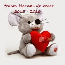 frases tiernas de amor 2015 - 2016
