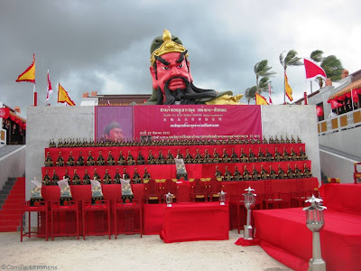 Guan Yu shrine, Koh Samui 2012
