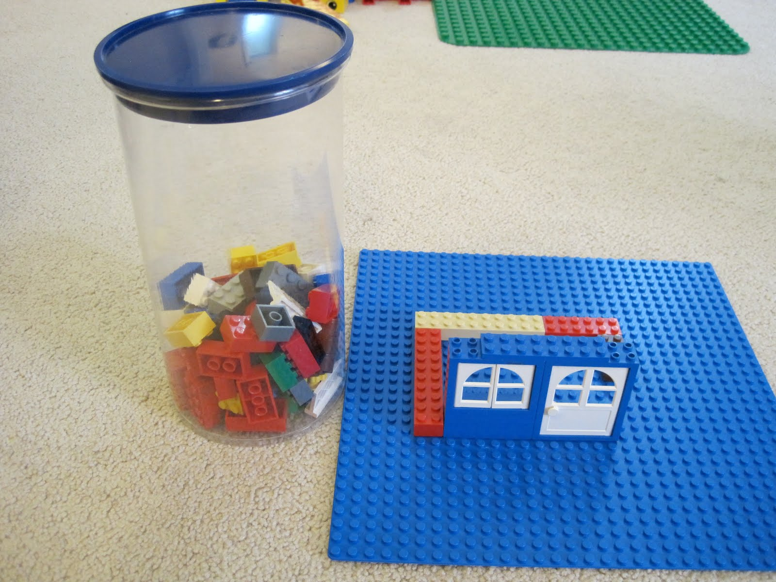 Build a lego house, take off half the bricks and put them aside. When the kids show kindness to each other, they get to add a brick! Great idea to help kids focus on building each other up!