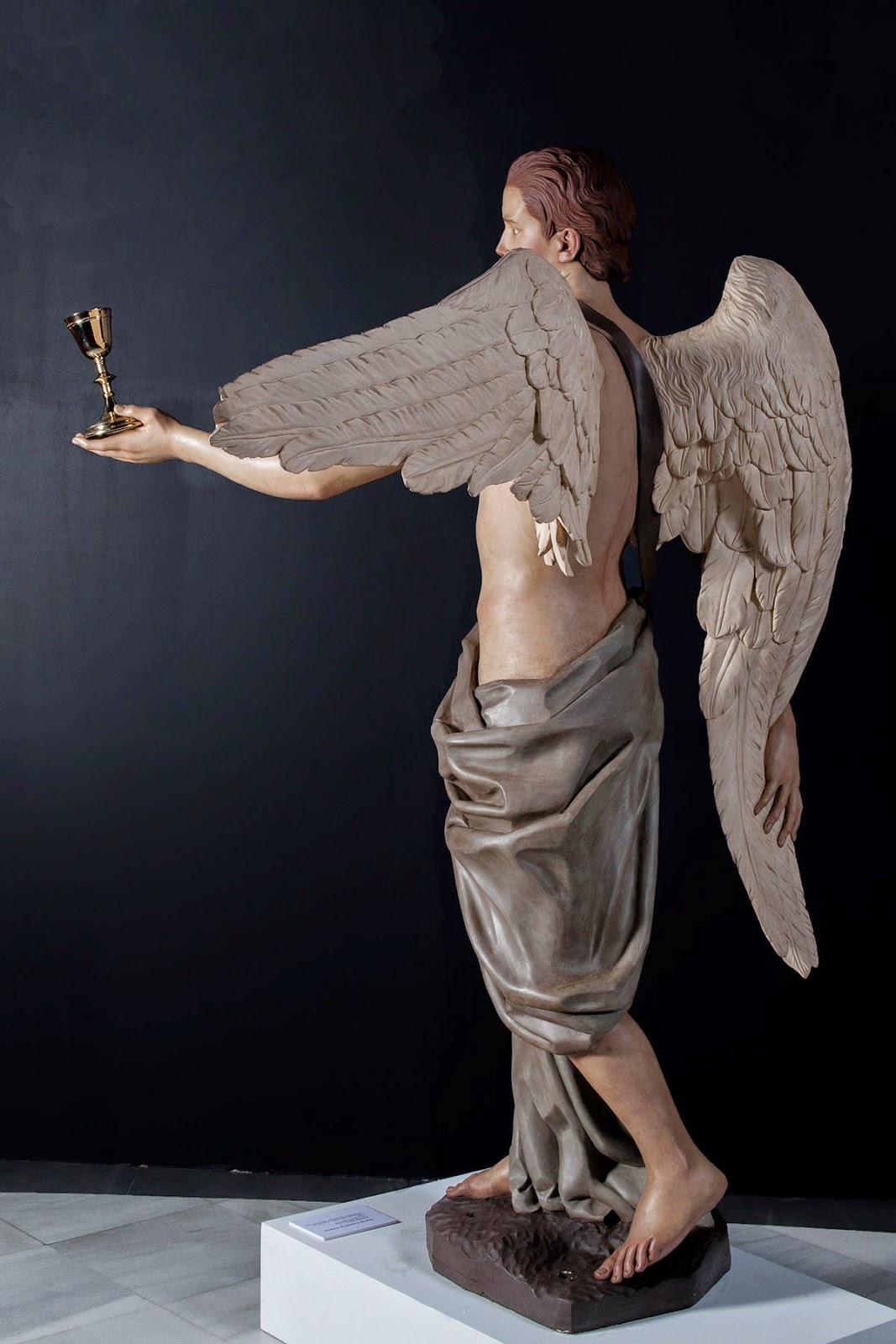 Ángel Semana Santa Tobarra escultura 3