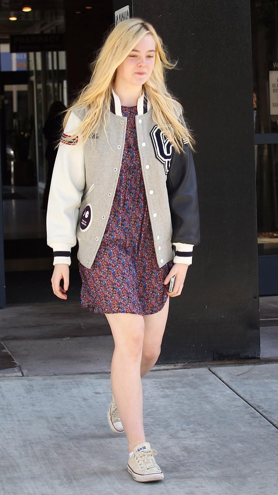 Never Be Afraid I Celebrity Inspiration + Fashion: Elle ...