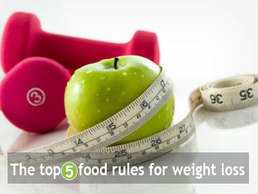 The top 5 food rules for weight loss
