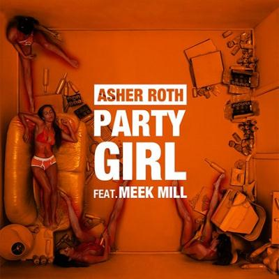 Asher Roth Ft. Meek Mill - Party Girl (Instrumental)