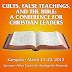 ACFAR Conference on Cults (March 21–23)