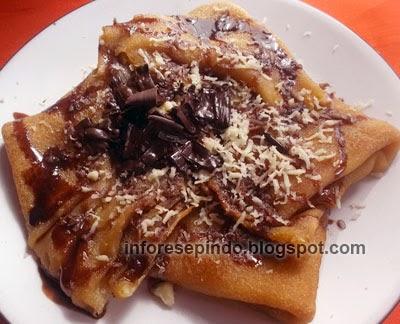 Cara Membuat Pancake Tabur Coklat Keju Manis