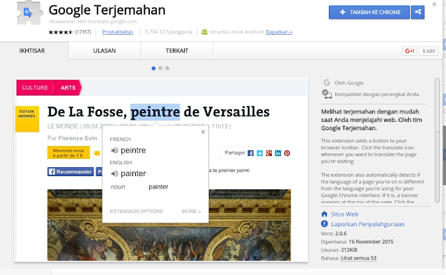 Google Translate Extensions