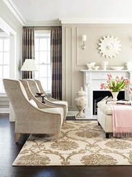 Designer Pet Peeve: Chairs Half on Rugs
