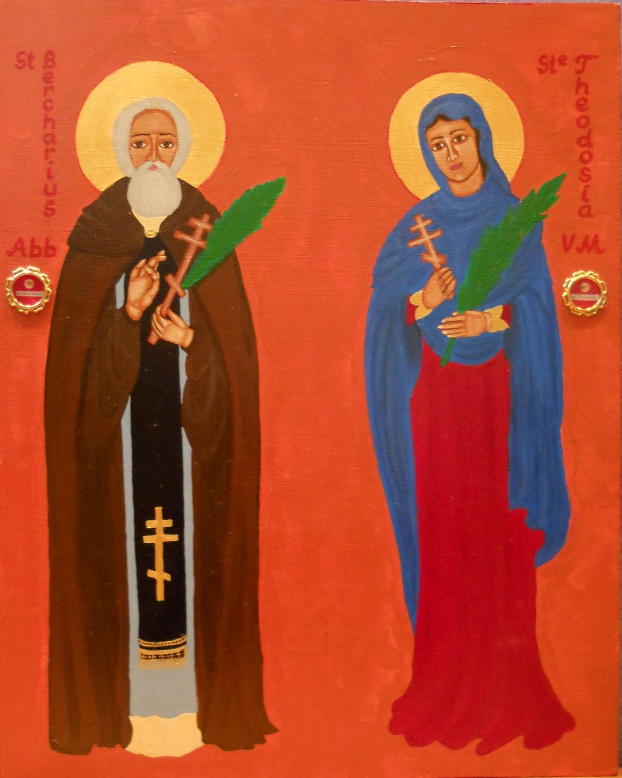 Saints of the Day: July 18: Saint Theodosia of Constantinopel