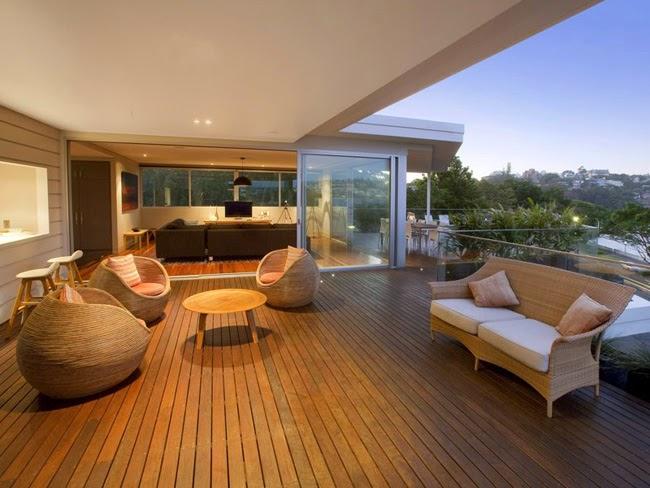 Casas minimalistas y modernas terrazas modernas modern for Terrazas minimalistas modernas