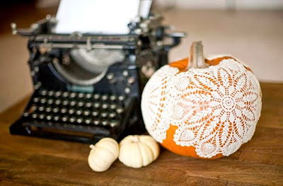 elegant pumpkin decoration
