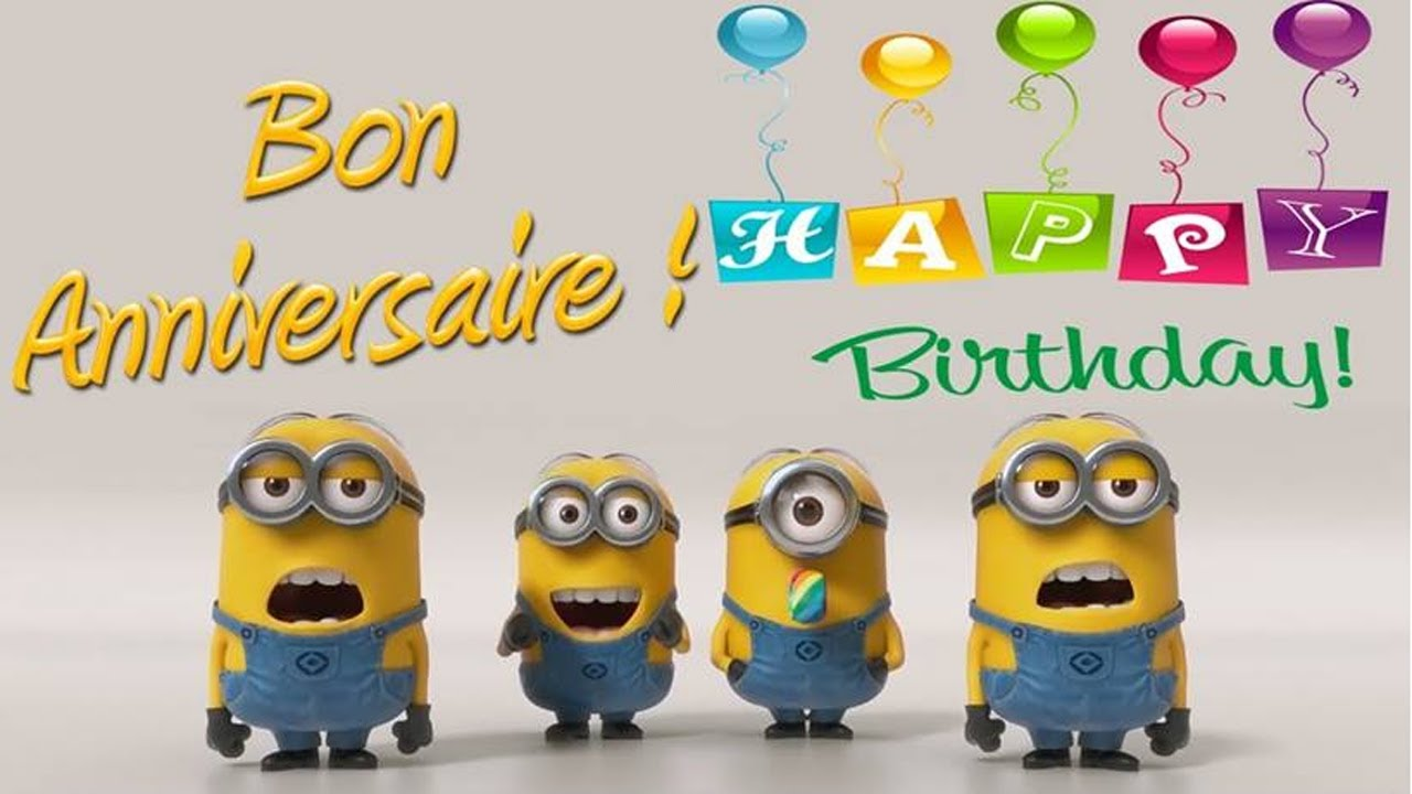 Happy Birthday Images Minions