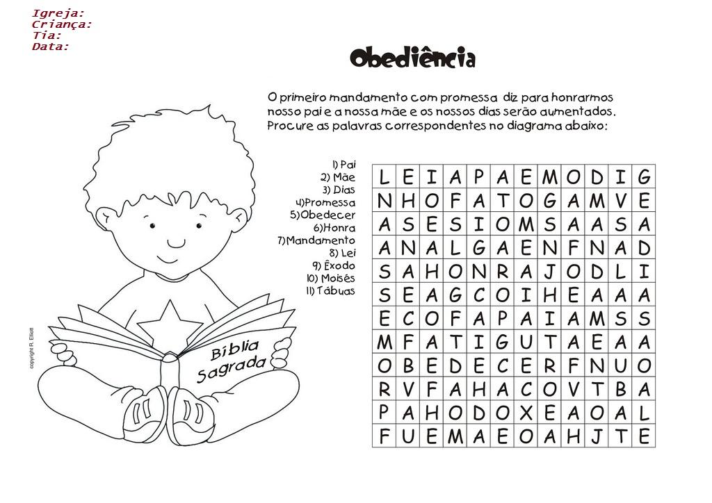 Populares Tias da Escolinha - Ministério Infantil: Desenhos e atividades WG18