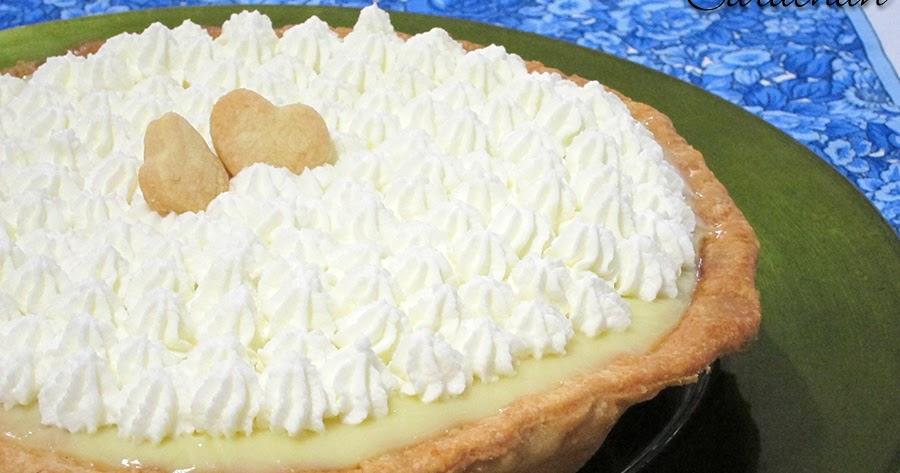 Bloggoloso: Rum-Vanilla Cream Pie
