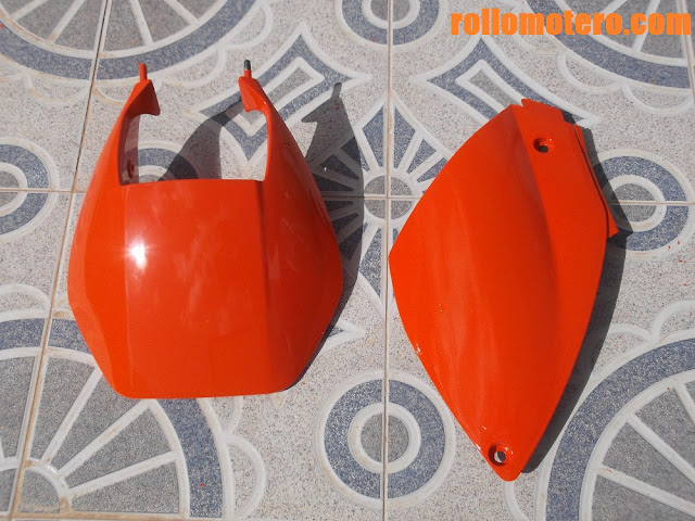 Paint tone RAL 2004 for KTM
