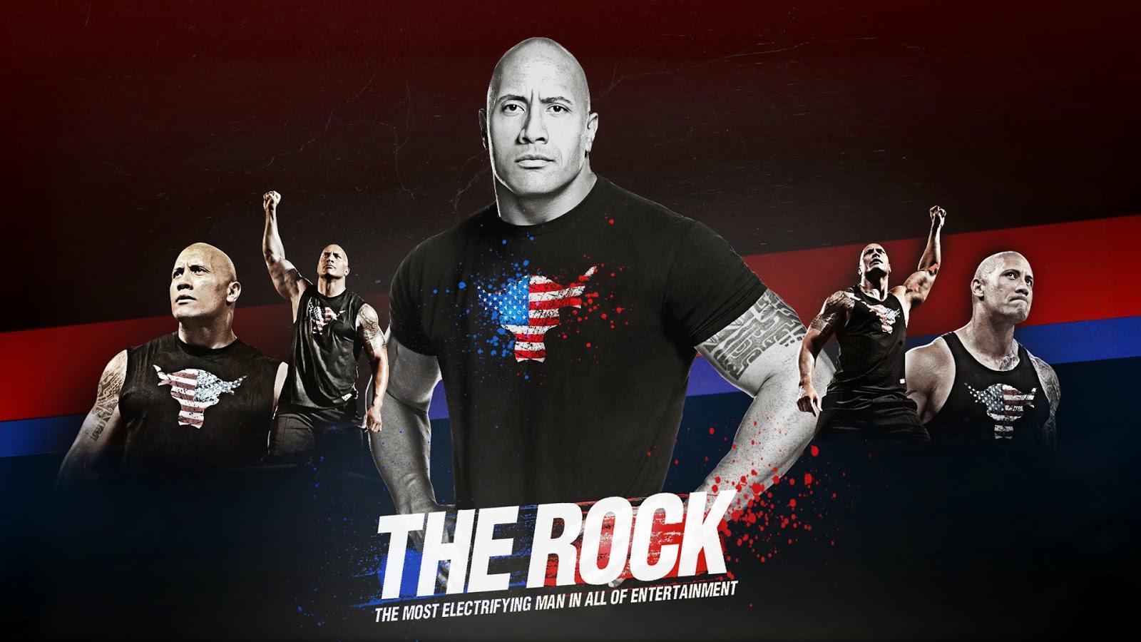 The Rock WWE Wallpaper 2014 15