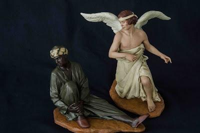 Belén Magos presepe nativity krippe Arturo Serra escultura barro cocido 2