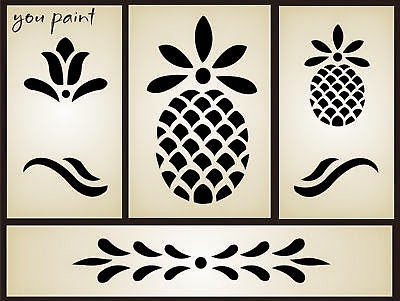 http://thumbs4.picclick.com/d/l400/pict/191246647647_/STENCIL-Primitive-Welcome-Pineapple-Tulip-Folk-Art-Leaf.jpg