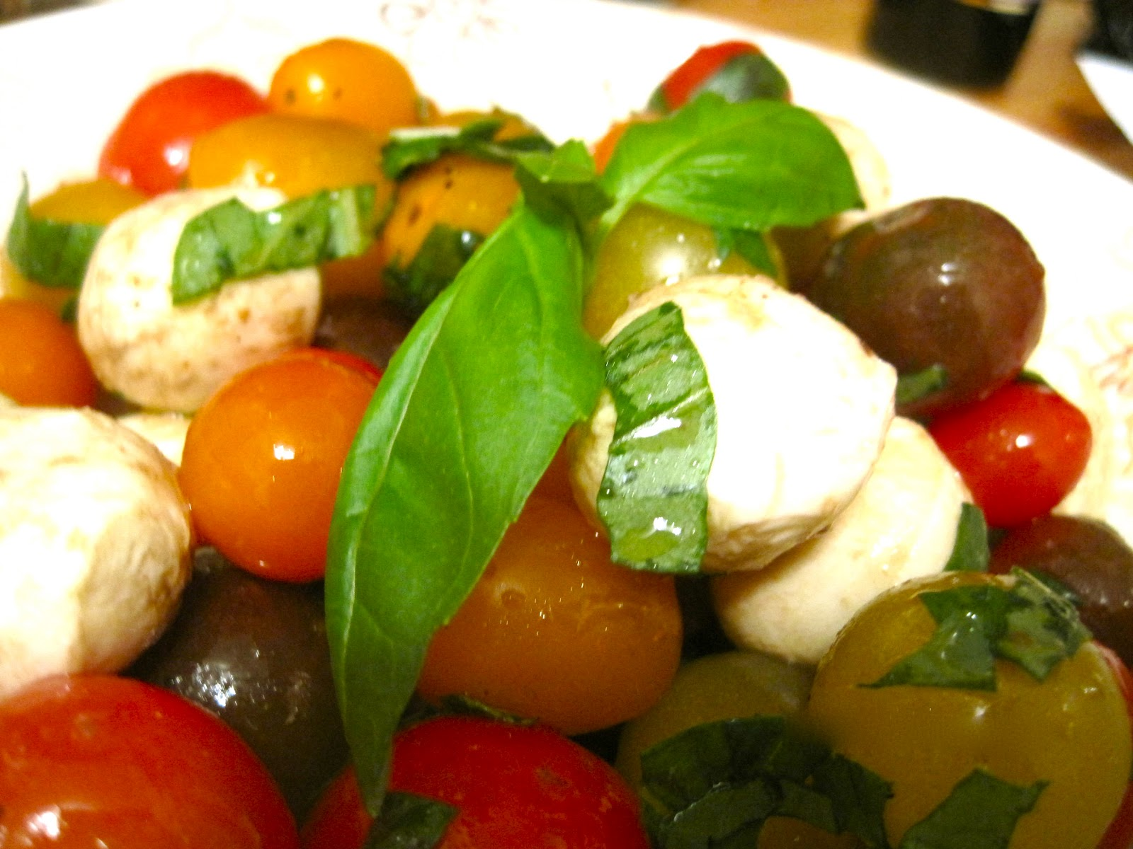 how to serve bocconcini cheese