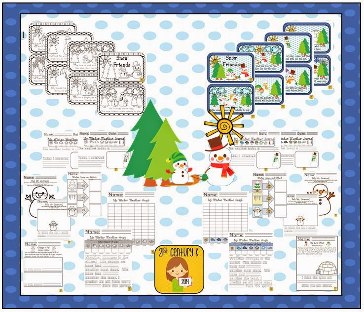 http://www.teacherspayteachers.com/Product/Kindergarten-Theme-The-Winter-Sun-1622984