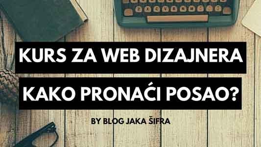 Postanite web dizajner i pronađite dobro plaćen posao.
