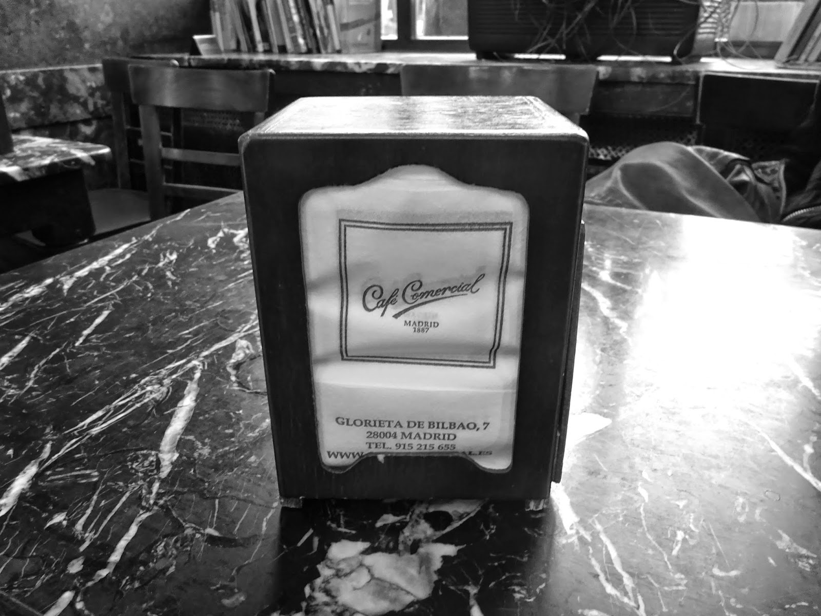 cafe comercial cafeteria antigua bar madrid glorieta bilbao fuencarral sagasta carranza