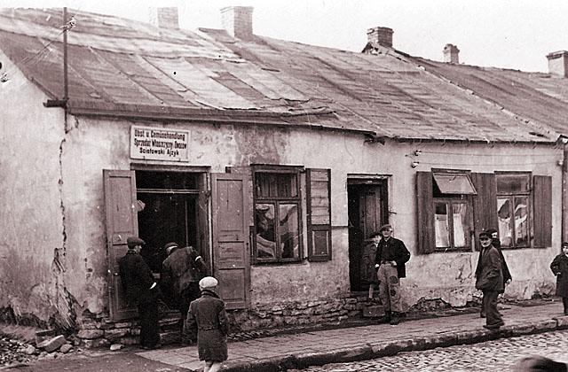 Końskie, getto, ul. Joselewicza 3. Fotografię udostępnił Mateusz Partyka