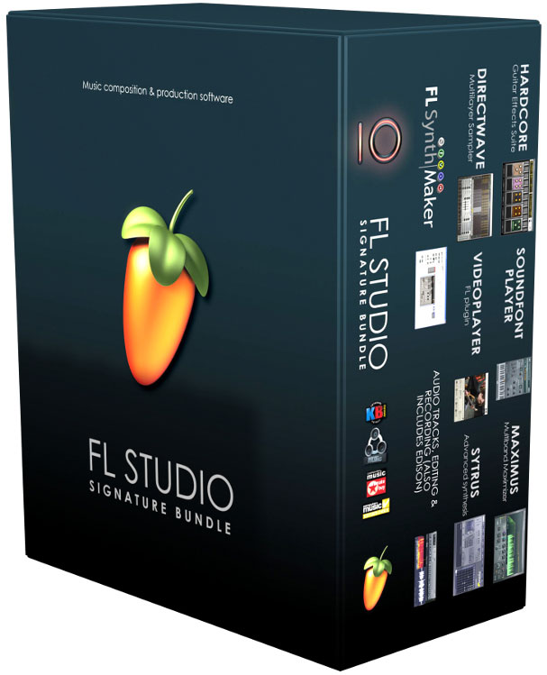 FL Studio FL Signature Bundle 10 FL Studio 10 Signature Bundle (XXL) (Fruity Loops) en Español