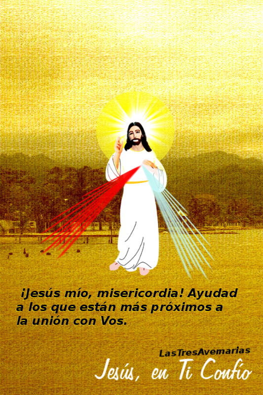 foto de jesus con oracion de peticion por las almas