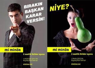 Mi Minör, afiş, memet ali alabora, mehmet ali alabora, pınar öğünç
