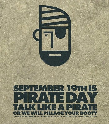 19. September, Talk Like A Pirate Day - Bild: Mike Piontek