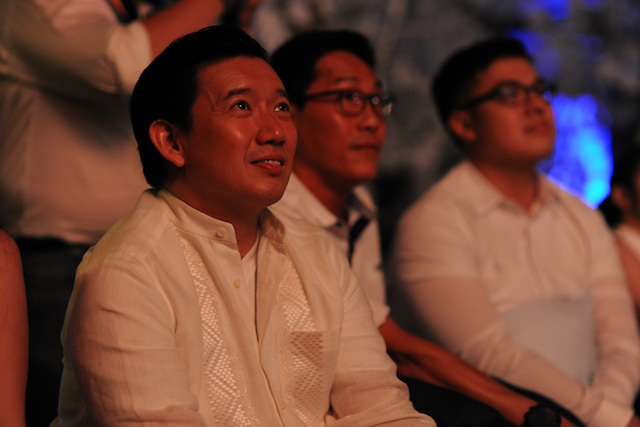 Hong Kong actor Chapman To made a special appearance at the exclusive screening of Coaster.