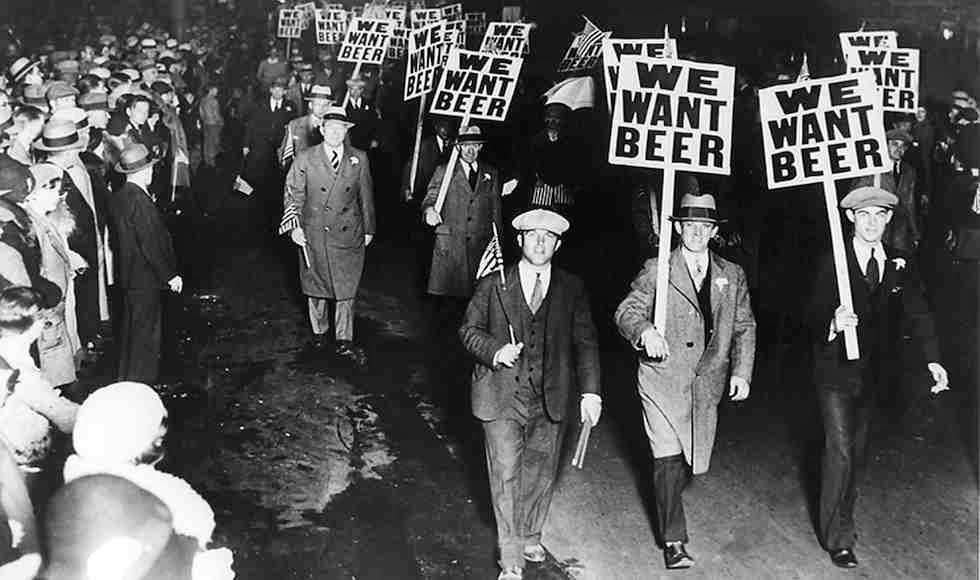 We want beer! - Detroit, America