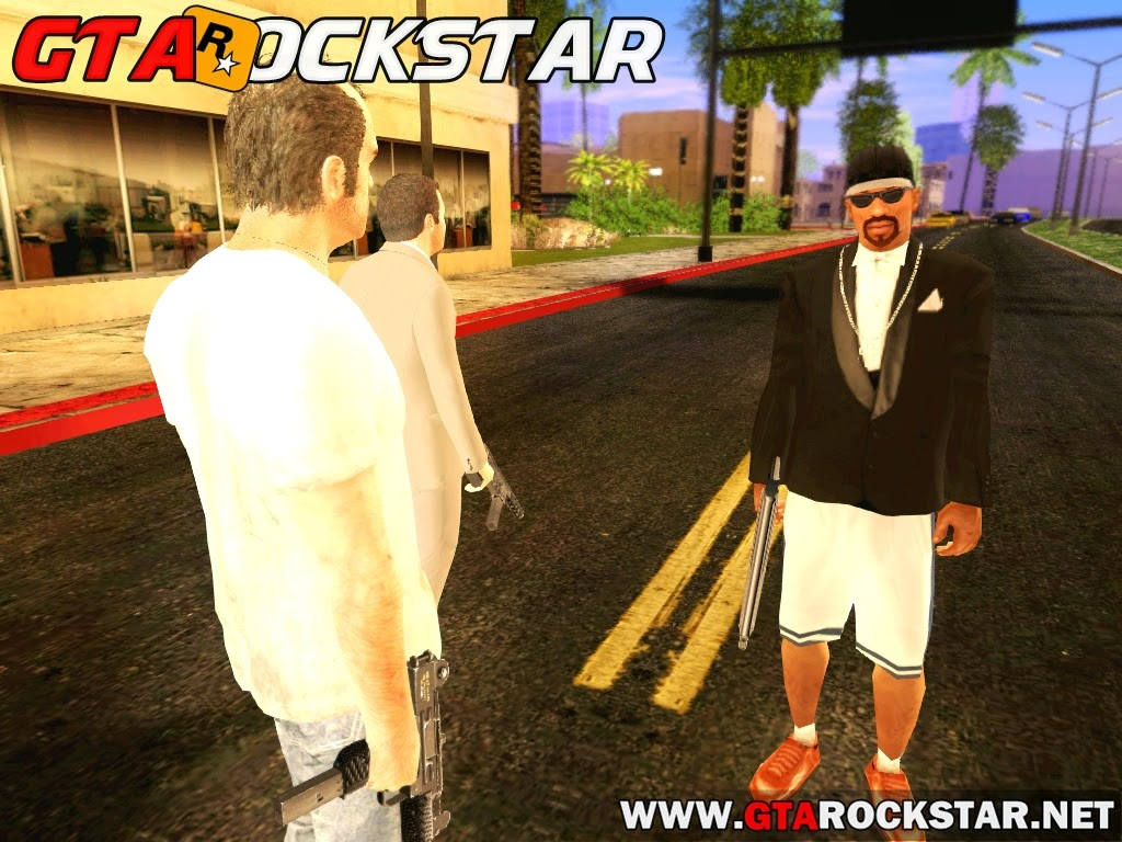 GTA SA - Mod Michael & Trevor Spawn
