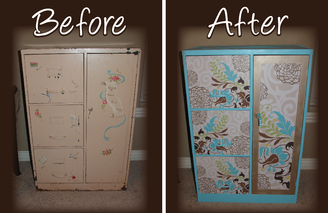 giraffic arts: Filing Cabinet Redo Project