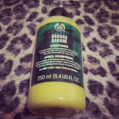 The Body Shop Banana hair conditioner