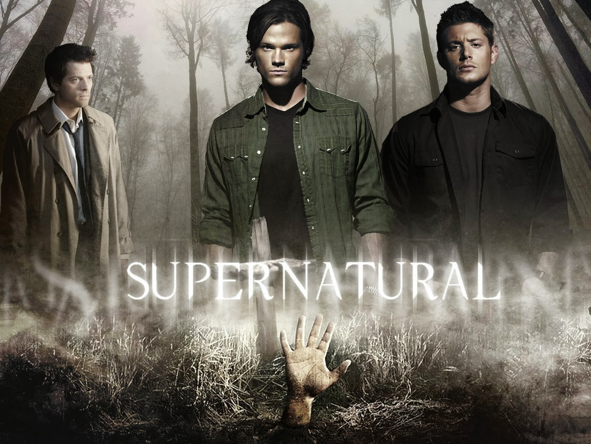 Capa do assistir supernatural online seriados