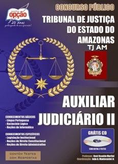 Apostila TJAM Nível Fundamental - 2015 - AUXILIAR JUDICIÁRIO II