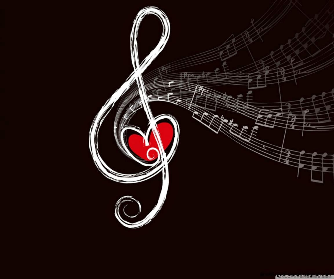 Musical Notes HD desktop wallpaper  Widescreen  High Definition