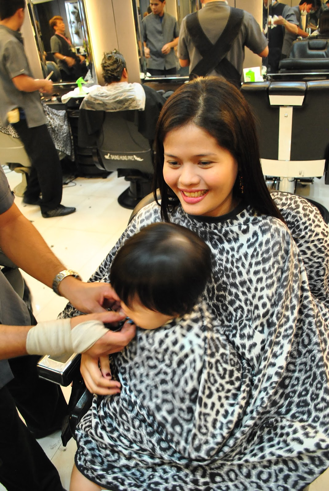 Roccos Mom The First Haircut