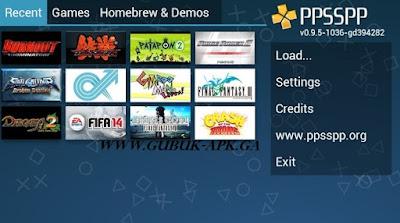 Screenshot PPSSPP Gold