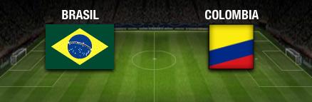 resultado final Brasil vs Colombia cuartos de final