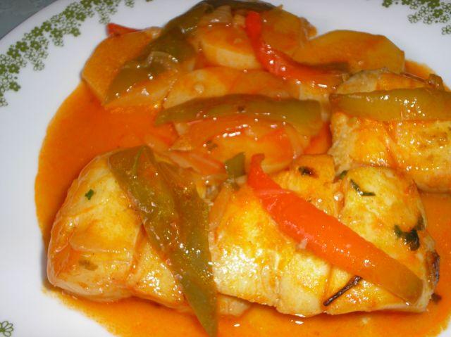 filetes de gallo en salsa recetas de cocina