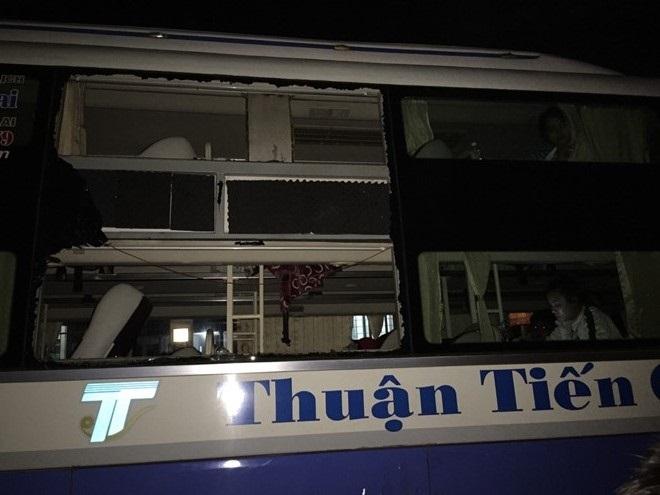 Bắt kẻ ném đá xe khách Thuận Tiến Gia Lai khiến tài xế hỏng mắt