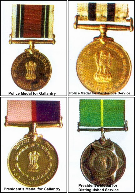Police Medals conferred on the Occasion  of Republic Day