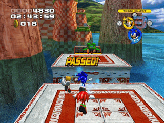 Screenshot Game Sonic Heroes