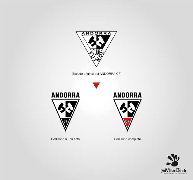 Escudo Andorra CF Teruel rediseño