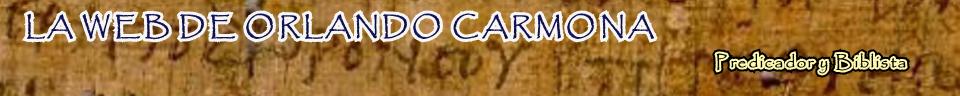 LA WEB DE ORLANDO CARMONA