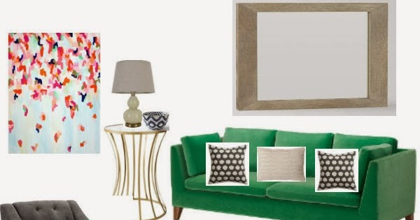 Mood Board Kelly Green Living Room Little House Of