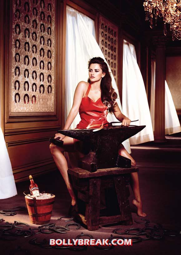 Penelope Cruz for Campari - (12) - Penelope Cruz sexy Campari Calendar