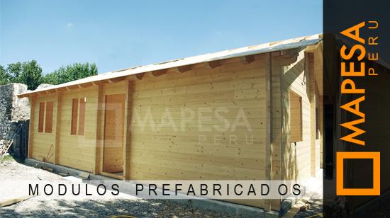 Mapesaperu casetas y m dulos para obras - Modulos prefabricados para viviendas ...